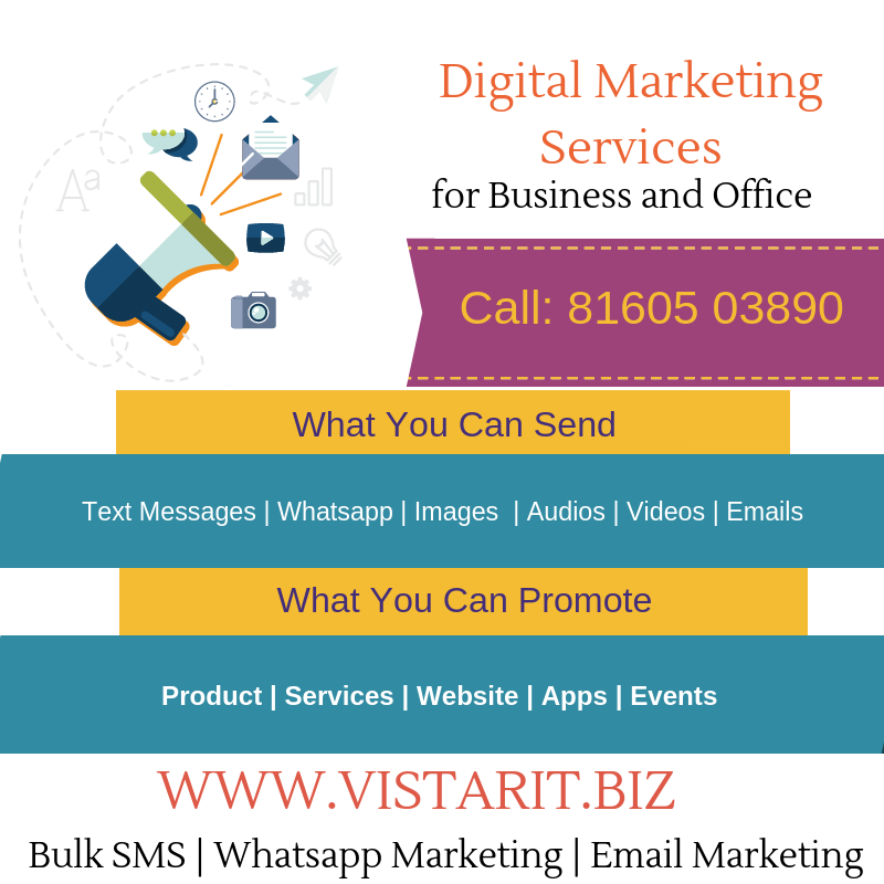Digital Marketing Services for Business Promotion and Office Use